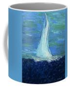 Sailing On The Blue Coffee Mug