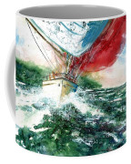 Sailing On The Breeze Coffee Mug
