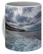Sailing Past Pictured Rocks Coffee Mug