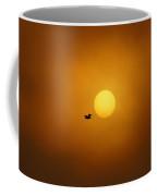 Sailing Past The Sun Coffee Mug