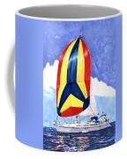 Sailing Primary Colores Spinnaker Coffee Mug