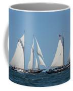Sailing Ship In The Ocean At Gloucester Coffee Mug