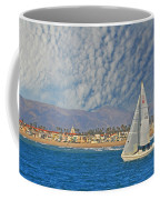 Sailing The Blues Away  Coffee Mug