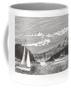 Sailing Mount Hood Oregon Coffee Mug