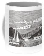 Sailing Mount Hood Oregon Coffee Mug
