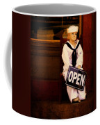 Sailors Welcome Cropped Coffee Mug