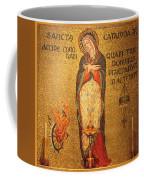 Saint Catherine Of Alexandria Altar Coffee Mug