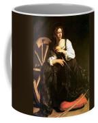 Saint Catherine Of Alexandria Coffee Mug by Caravaggio