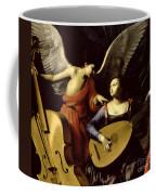 Saint Cecilia And The Angel Coffee Mug