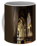 Saint Denis Cathedral Coffee Mug by Olivier Le Queinec