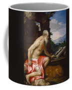 Saint Jerome In The Wilderness Coffee Mug