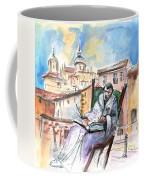 Saint John Of The Cross In Salamanca Coffee Mug