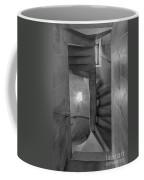 Saint John The Divine Spiral Stairs Bw Coffee Mug