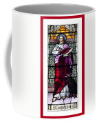 Saint John The Evangelist Stained Glass Window Coffee Mug