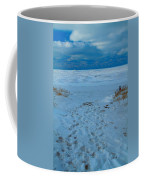 Saint Joseph Michigan Beach In Winter Coffee Mug