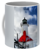 Saint Joseph Michigan Lighthouse Coffee Mug by Dan Sproul