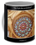 Saint Josephs Cathedral Stained Glass Window Buffalo New York Coffee Mug