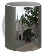 Saint Louis Gate In Ramparts Of Quebec City Coffee Mug