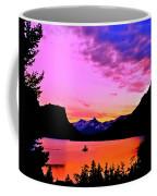 Saint Mary Lake Twilight Coffee Mug