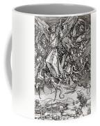 Saint Michael And The Dragon Coffee Mug