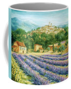 Saint Paul De Vence And Lavender Coffee Mug