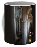 Saint Philibert Church Interior Burgundy Coffee Mug