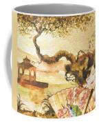 Sakura Coffee Mug by Mo T