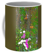 Sala Tree And Orchids At Buddhist University In Chiang Mai-thail Coffee Mug