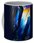 Salicylic Acid Crystals In Polarized Light Coffee Mug