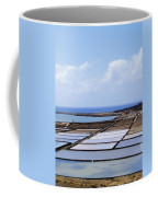 Salinas De Janubio On Lanzarote Coffee Mug