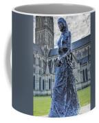 Salisbury Cathedral And The Walking Madonna 2 Coffee Mug
