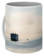 Salish Into The Fog Coffee Mug by Mike  Dawson