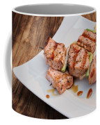 Salmon Teriyaki Skewers Coffee Mug