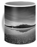Salt Cloud Reflection Black And White Select Focus Coffee Mug
