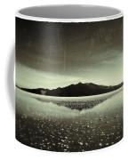 Salt Cloud Reflection Black And White Vintage Coffee Mug
