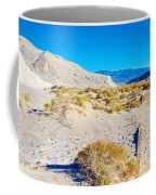 Salt Creek Boardwalk Trail In Death Valley National Park-california  Coffee Mug