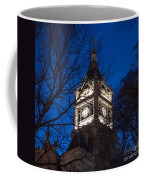 Salt Lake City And County Building At Night Coffee Mug