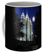 Salt Lake Mormon Temple At Night Coffee Mug