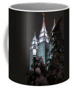 Salt Lake Temple In The Snow Coffee Mug