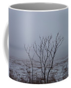 Salt Marsh Submerged In Fog Coffee Mug