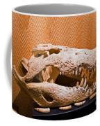 Salt Water Crocodile Skull Coffee Mug