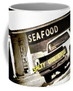 Salty Oysters - Textured Coffee Mug