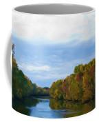 Saluda River In The Fall Coffee Mug