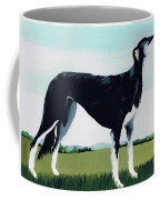 Saluki Cross Coffee Mug by Maggie Rowe