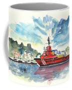 Salvage Ship In Cartagena Coffee Mug