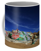 Salvation Mountain Coffee Mug by Laurie Search