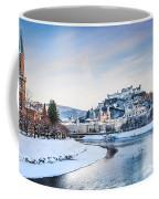 Salzburg Winter Fairy Tale Coffee Mug