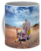Sam Discovers Bald Head Island Coffee Mug