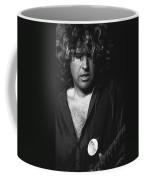 Rocking On His Guitar In 1978. Coffee Mug