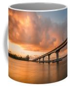 Samoa Bridge At Sunset Coffee Mug